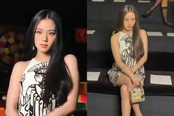 Jisoo ở show Dior: Ảnh chụp lén vẫn xuất sắc như Hoa hậu