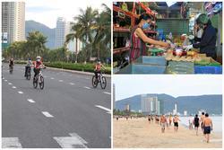 Người dân Đà Nẵng được tắm biển... hoạt động trở lại từ 0h ngày 30/9