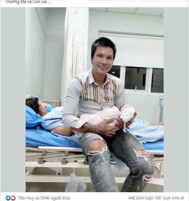 Vợ sinh con, Lộc Fuho nói 5 chữ hút 394 nghìn cảm xúc-1