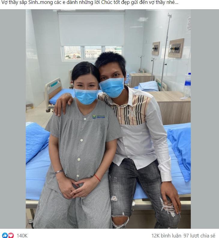 Vợ sinh con, Lộc Fuho nói 5 chữ hút 394 nghìn cảm xúc-2