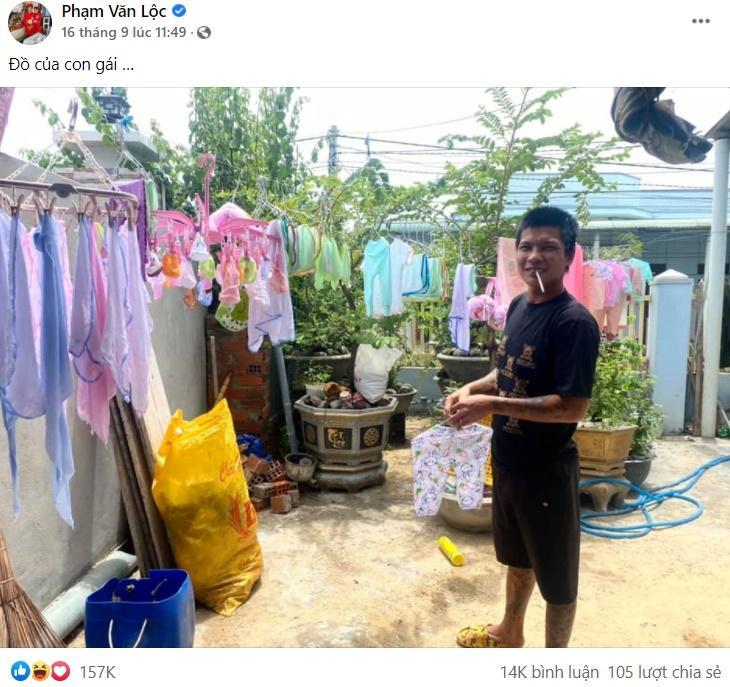 Vợ sinh con, Lộc Fuho nói 5 chữ hút 394 nghìn cảm xúc-4
