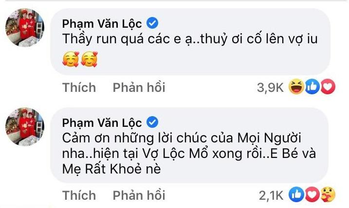 Vợ sinh con, Lộc Fuho nói 5 chữ hút 394 nghìn cảm xúc-3