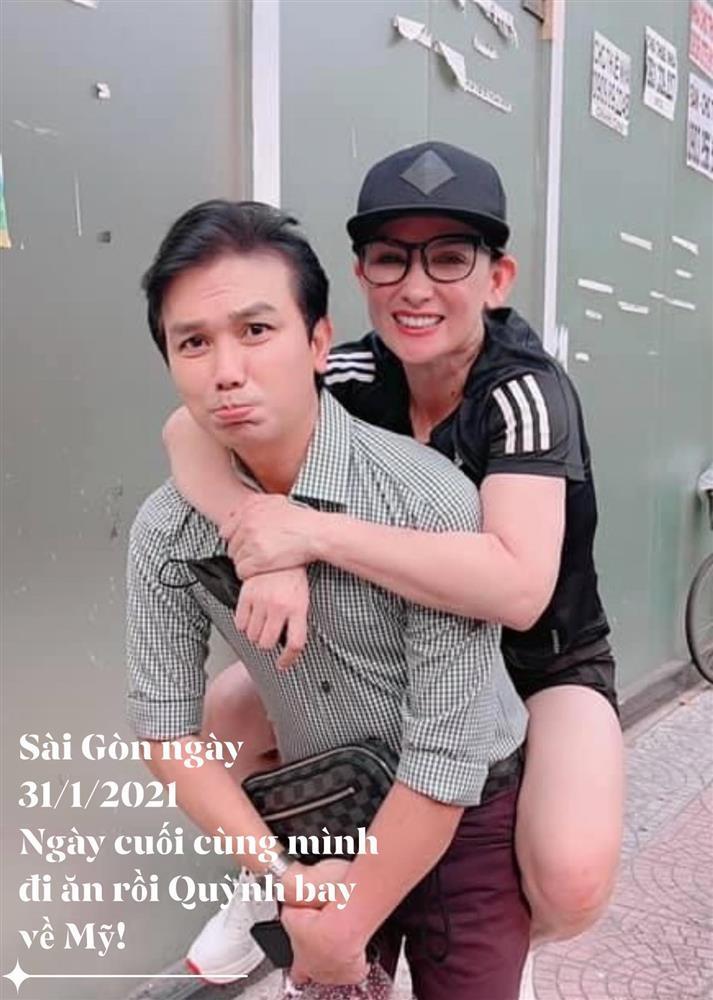 Mạnh Quỳnh đăng ảnh cuối bên Phi Nhung: Không còn nước mắt-1