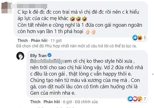 Phản đối đàn ông ép vợ sinh con trai, Elly Trần bị phản ứng-2