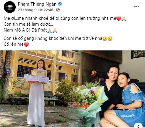 Con nuôi Phi Nhung xin lỗi vì không thể thắp nhang cho mẹ-6