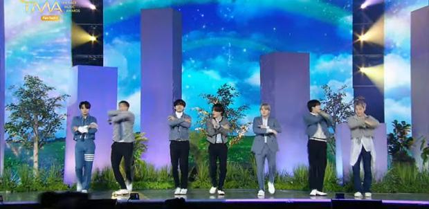 BTS live encore tụt mood tại TMA 2021-7