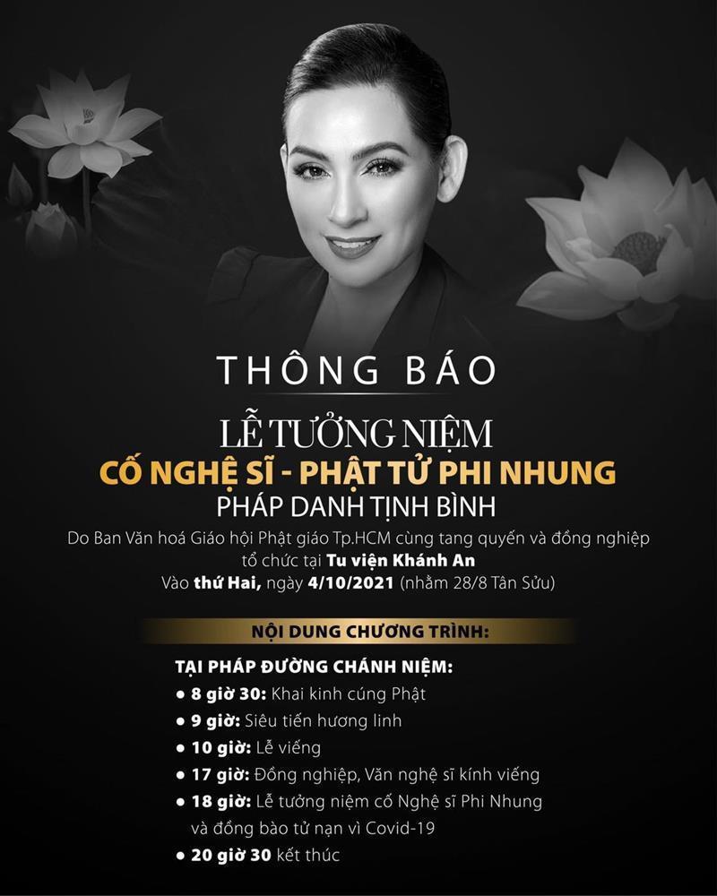 Hoãn lễ tưởng niệm cố ca sĩ Phi Nhung-2