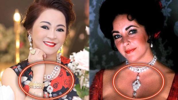 Dây chuyền của bà Phương Hằng giống món đồ Hoàng gia?-3