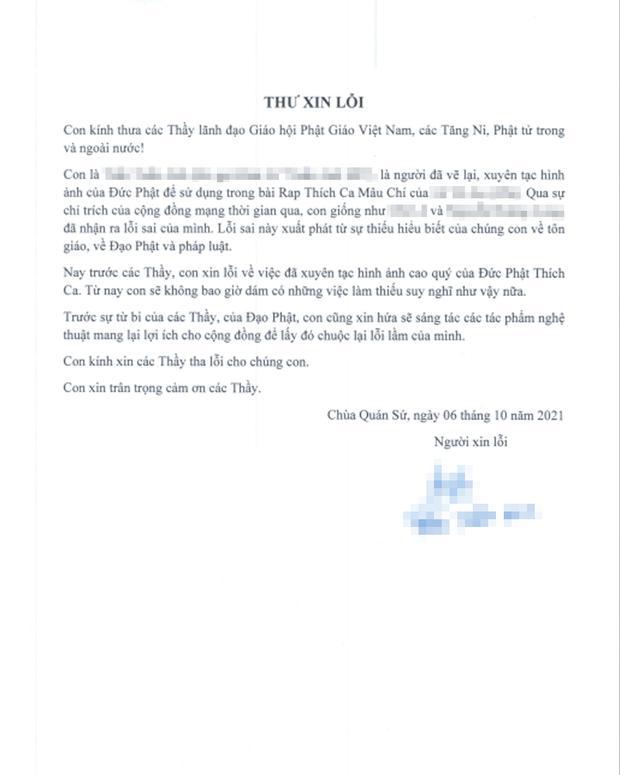 Nhóm rapper xúc phạm Phật giáo đến chùa sám hối, xin hối lỗi-7