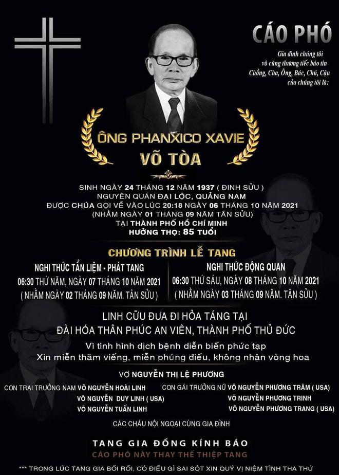 Hoài Linh ra mặt chịu tang bố sau 4 tháng nằm yên-4