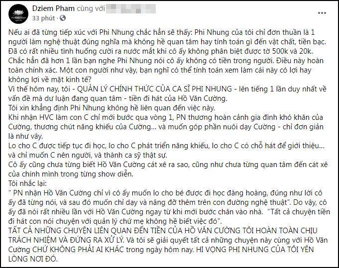 Hồ Văn Cường liên tục bị dằn mặt, em trai Phi Nhung nói gì?-5