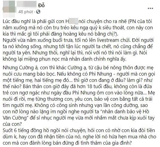 Hồ Văn Cường liên tục bị dằn mặt, em trai Phi Nhung nói gì?-6