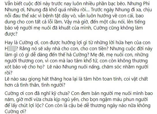Hồ Văn Cường liên tục bị dằn mặt, em trai Phi Nhung nói gì?-7