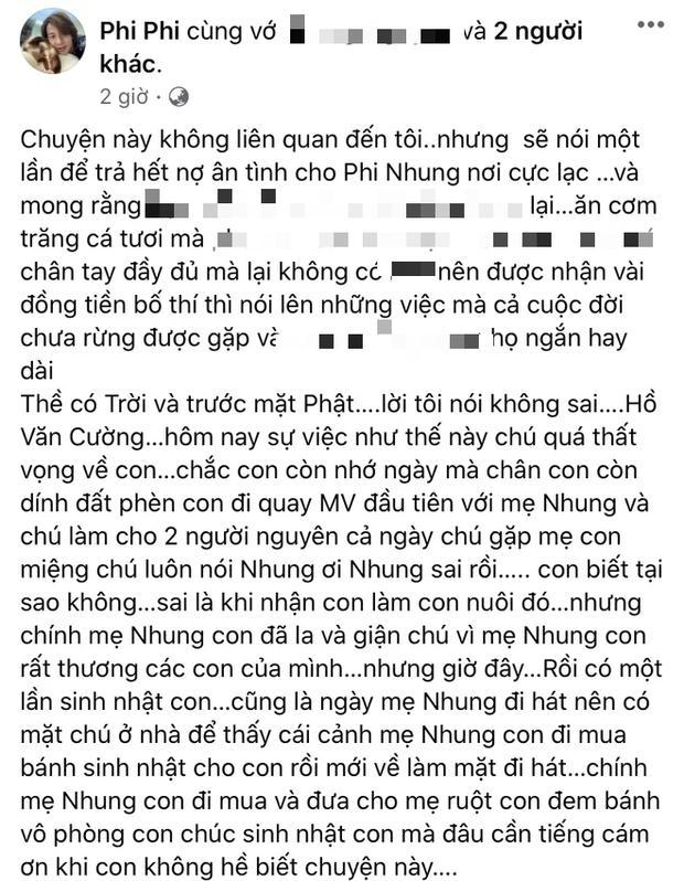 Hồ Văn Cường liên tục bị dằn mặt, em trai Phi Nhung nói gì?-9