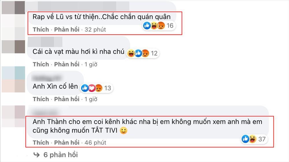 Thành Cry tung ảnh Rap Việt, nhiều người tranh thủ hỏi SAO KÊ-4