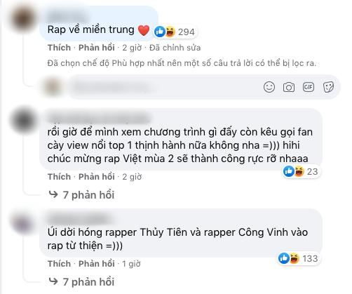 Thành Cry tung ảnh Rap Việt, nhiều người tranh thủ hỏi SAO KÊ-5