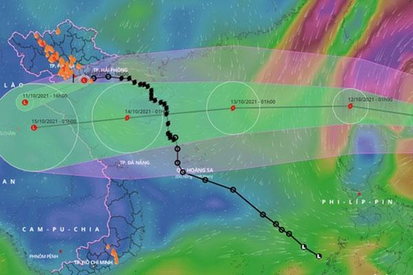 Sau bão số 7, Biển Đông hứng thêm bão cấp 11-1