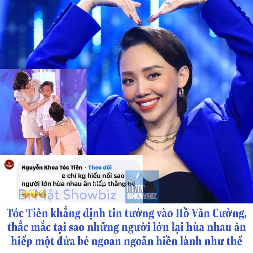 Tóc Tiên: Không hiểu sao người lớn hùa nhau ăn hiếp Hồ Văn Cường-1