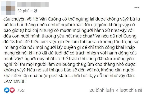 Tóc Tiên: Không hiểu sao người lớn hùa nhau ăn hiếp Hồ Văn Cường-3