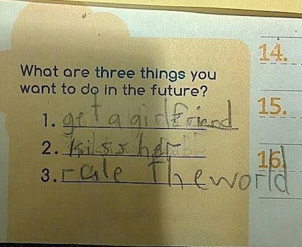 Cha mẹ bó tay trước các ước mơ kiểu IQ vô cực của lũ trẻ-3