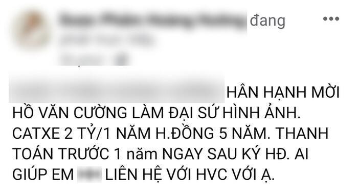 Rời công ty Phi Nhung, Hồ Văn Cường trúng luôn hợp đồng 10 tỷ?-2