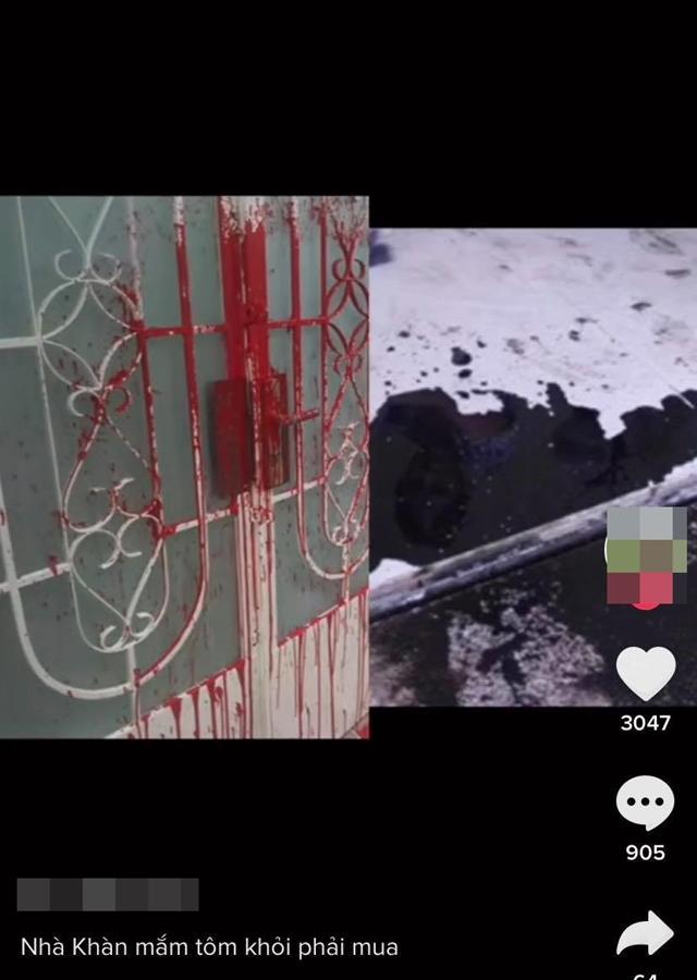 Nhà Trang Trần bị tạt mắm tôm sau ồn ào với Hồ Văn Cường?-1