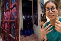 Nhà Trang Trần bị tạt mắm tôm sau ồn ào với Hồ Văn Cường?