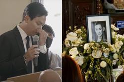 Mạnh Quỳnh đau đớn trong tang lễ Phi Nhung, tự nhận 'vô dụng'