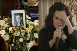 Trizzie Phương Trinh khóc nức nở: 'Phi Nhung là em ruột tôi'