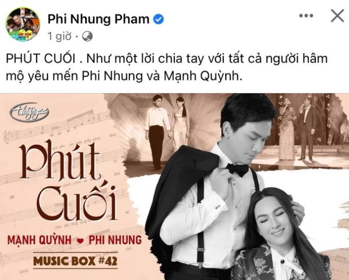 Ai mà ngờ đây là lần cuối Phi Nhung - Mạnh Quỳnh chung sân khấu!-3