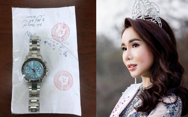 Lã Kỳ Anh ăn trộm đồng hồ 2 tỷ đồng: Hoa hậu thẩm mỹ tè le-1