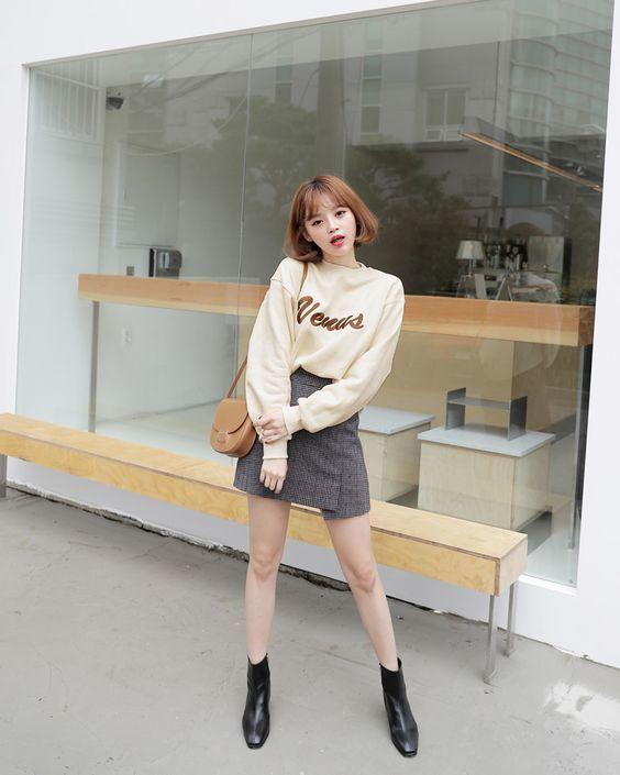 Phối đồ với boots cổ lửng chuẩn chỉnh như fashionista-7