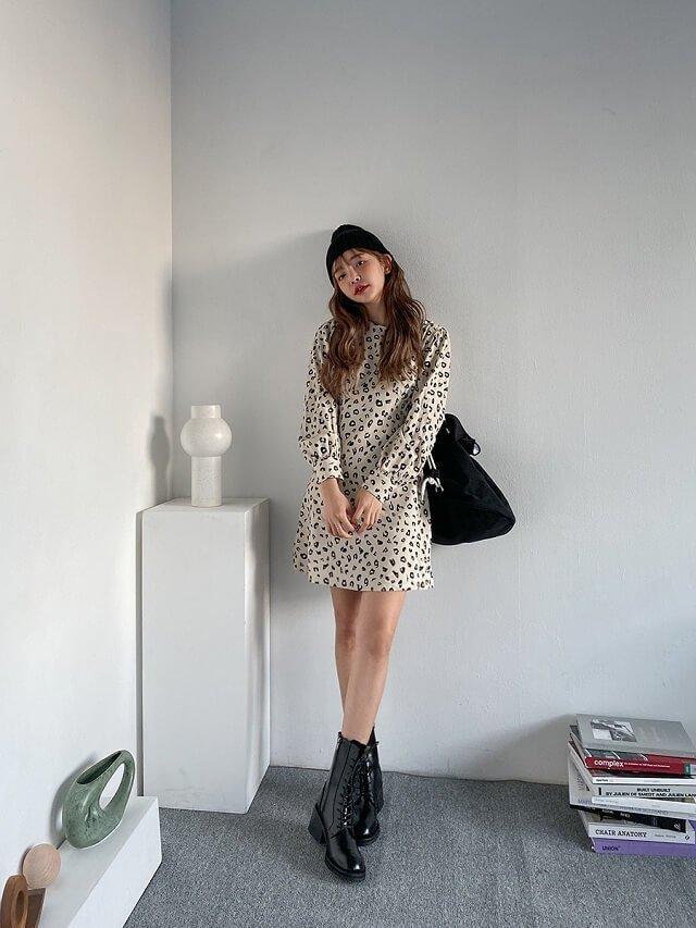 Phối đồ với boots cổ lửng chuẩn chỉnh như fashionista-8