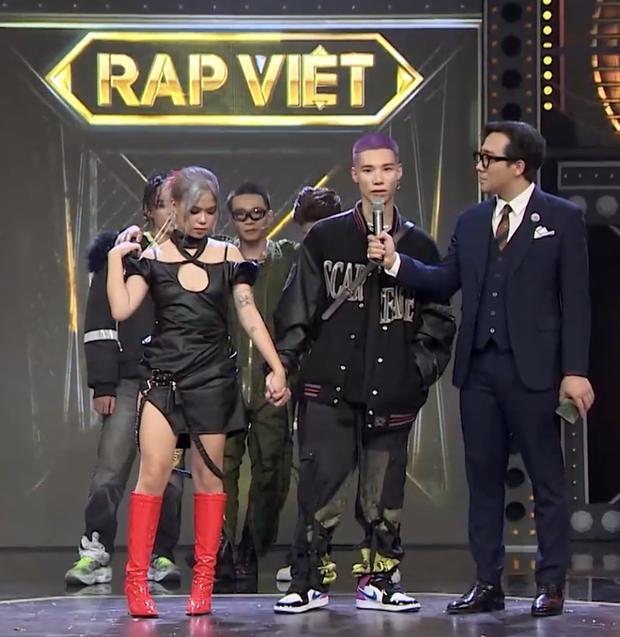 Hành trình tình yêu của MCK - Tlinh tại Rap Việt-2