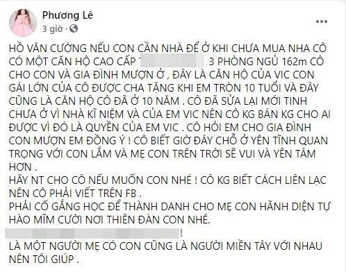 Hoa hậu 7X tuyên bố cho gia đình Hồ Văn Cường mượn nhà-2