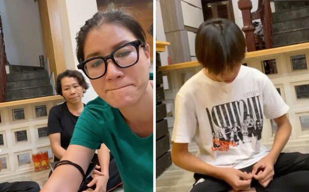2 mẹ con Hồ Văn Cường chỉ mặc 1 cái áo trong suốt 10 ngày-3