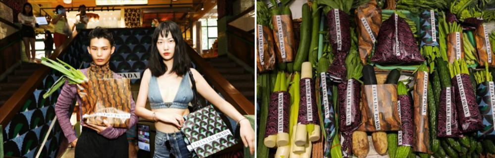 Cô gái vứt rau để lấy túi giấy Prada gây tranh cãi ở Trung Quốc-3