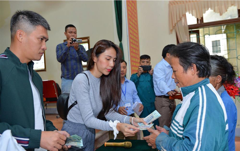 Huyện Thanh Chương báo tiền Thủy Tiên từ thiện ít hơn xác nhận 2020-2