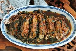 Thịt vịt xào tía tô không ngờ mùi thơm lừng, càng ăn càng nghiền