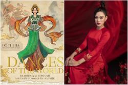 Đỗ Thị Hà hóa nữ tướng Bà Triệu khi thi Miss World 2021