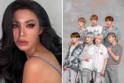 Đu trend Danger (BTS), Minh Tú khiến netizen 'xỉu tới xỉu lui'