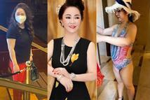 Bà Phương Hằng bị chụp lén, body kiểu gì nhìn mém xỉu