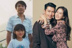 Ngoại hình giống nhau đến ngỡ ngàng của bố Son Ye Jin và Hyun Bin
