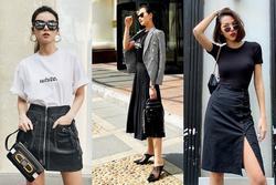 Sao Việt diện chân váy đen từ thanh lịch đến cá tính