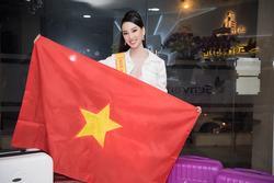 Người đẹp Trần Hoàng Ái Nhi bị thu giữ hành lý vì nghi buôn lậu