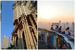 Lạnh gáy với 'tòa tháp ma' bỏ hoang ở Thái Lan