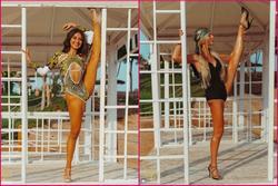 Thí sinh Miss Intercontinental 2021 tạo dáng phản cảm với bikini