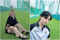 Cùng đi đánh golf, Gil Lê và Hoàng Thùy Linh lên đồ lạc quẻ quá trời
