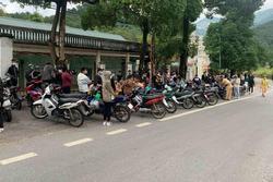 Vây bắt 190 nam nữ thanh niên tụ tập đua xe trên đường lên Tam Đảo
