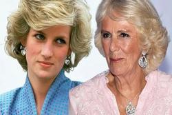 Bà Camilla 'côn đồ' với Công nương Diana trước hôn lễ Thái tử Charles